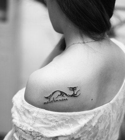 女人纹身在哪些部位更性感